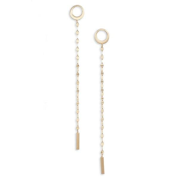 ラナ レディース ピアス&イヤリング アクセサリー Lana Jewelry Casino Bond Linear Earrings Yellow Gold