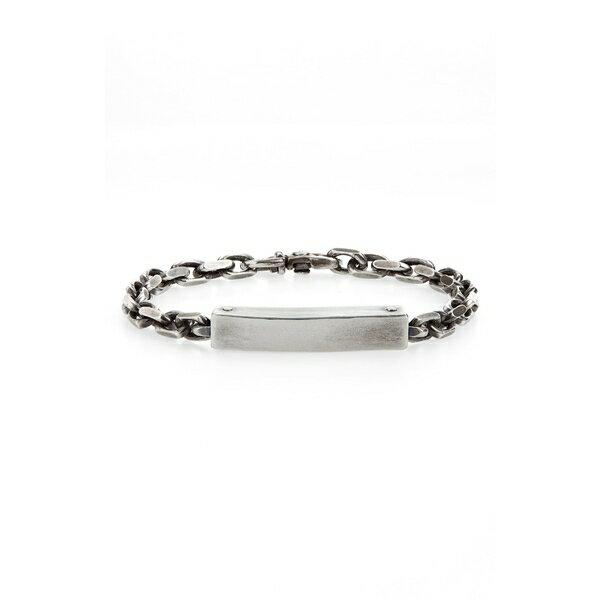 タイトルオブワーク メンズ ブレスレット・バングル・アンクレット アクセサリー title of work Silver Cable Bracelet Silver