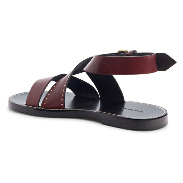 イザベル マラン レディース サンダル シューズ Isabel Marant Juzee Cross Strap Sandal (Women) Burgundy Leather