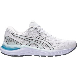 アシックス レディース ランニング スポーツ Asics Women's Gel-Cumulus 23 Running Shoes White/Black