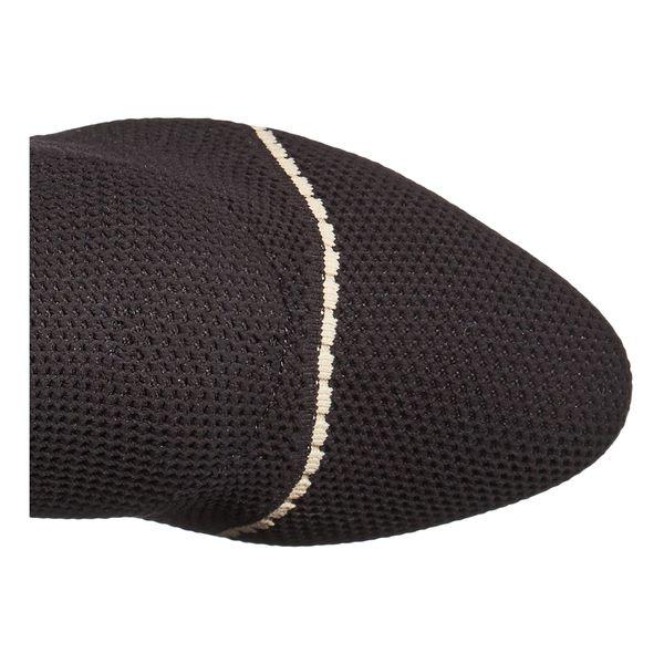 タビサシモンズ レディース ブーツ&レインブーツ シューズ Irina Stripe Black Knit/Black Suede