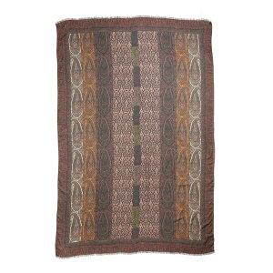 Accesorio de bufanda Etro para mujer con bufanda y bufanda Raji Paisley Med Brown Multi