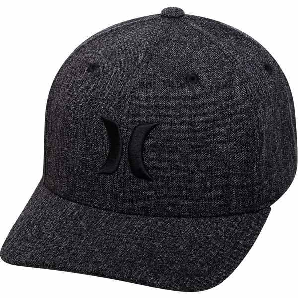 メンズ帽子, キャップ  Hurley Mens Black Textures Hat BlackSpeckle Blue