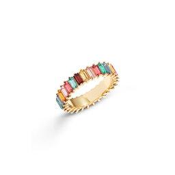 バウブルバー レディース リング アクセサリー Mini Alidia Ring Rainbow