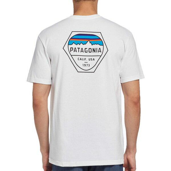 トップス, Tシャツ・カットソー  T Patagonia Mens Fitz Roy Hex Responsibili-Tee T-Shirt White