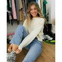 ジェイディーワイ レディース ニット&セーター アウター JDY cable knit sweater in cream Cream