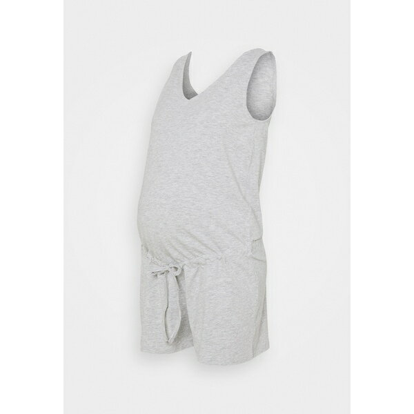 スーツ・セットアップ, ワンピーススーツ  PCMNEORA V-NECK PLAYSUIT - Jumpsuit - light grey melange