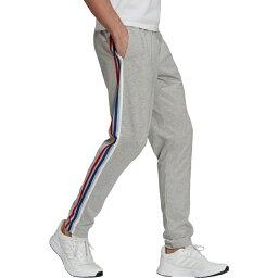アディダス メンズ カジュアルパンツ ボトムス adidas Men's 3S Tapered Sweat Pants Gray Medium 01