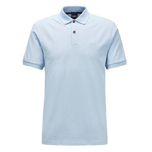 トップス, ポロシャツ  BOSS Pallas Pique Short-Sleeve Polo Shirt Light Blue