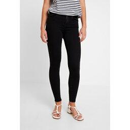 オンリー レディース デニムパンツ ボトムス ONLPOWER MID PUSH UP - Jeans Skinny Fit - black vuxb015a