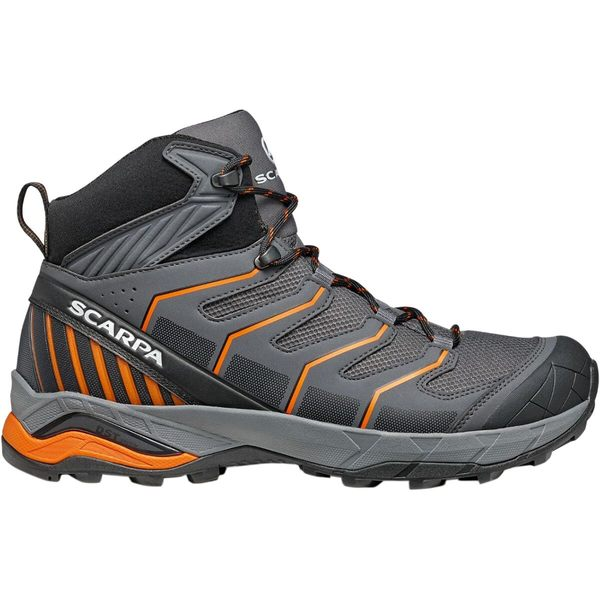 スカルパ メンズ ハイキング スポーツ Maverick Mid GTX Hiking Boot - Men's Iron Grey/Orange