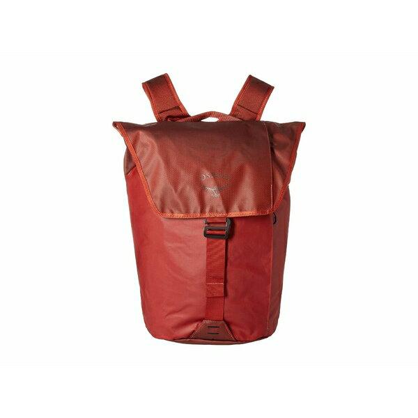 オスプレー メンズ バックパック・リュックサック バッグ Transporter Flap Pack Ruffian Red