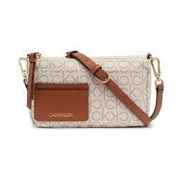 カルバンクライン レディース ショルダーバッグ バッグ Jana Convertible Belt Bag to Crossbody Vanilla Khaki/Caramel