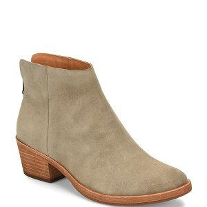 コークイース レディース ブーツ&レインブーツ シューズ Kecia Suede Block Heel Ankle Booties Calicanto