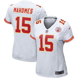 ナイキ レディース シャツ トップス Patrick Mahomes Kansas City Chiefs Nike Women's Player Game Jersey White