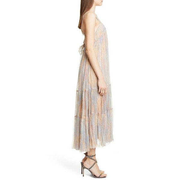 メドモワゼル レディース ワンピース トップス Mes Demoiselles Pavot Metallic Stripe Sundress Pastel