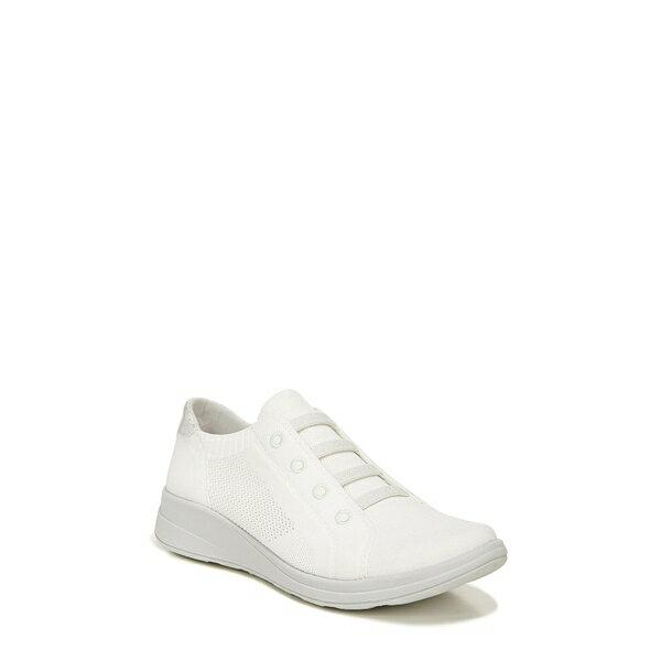 レディース靴, スニーカー  Golden Knit Slip-On Sneaker Brilliant White Fabric