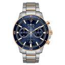 ブロバ レディース 腕時計 アクセサリー Men's Chronograph Marine Star Two-Tone Stainless Steel Bracelet Watch 45mm Two-Tone