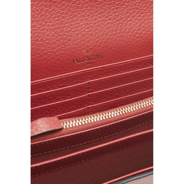 ヴァレンティノ レディース クラッチバッグ バッグ Valentino Rockstud Clutch ROSSORed