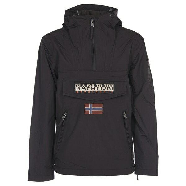 ナパピリ メンズ ジャケット&ブルゾン アウター Napapijri Rainforest Jacket Black