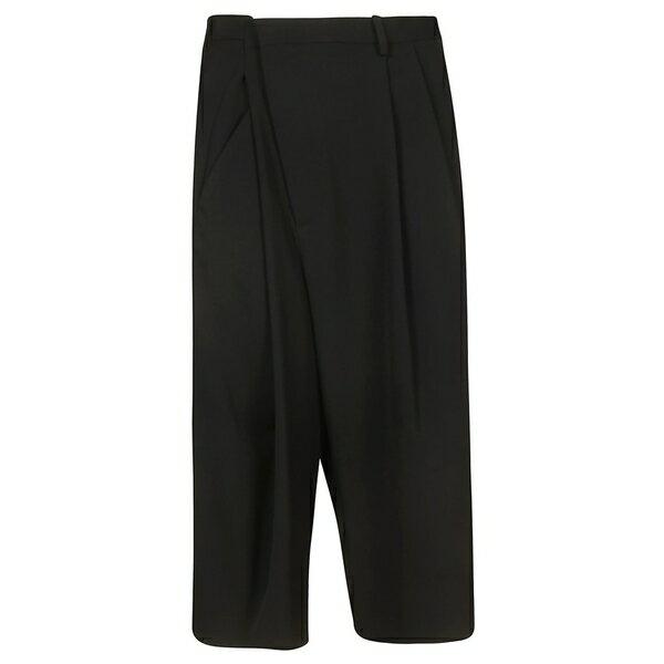 マルタンマルジェラ レディース カジュアルパンツ ボトムス Maison Margiela Wide Leg Trousers Black
