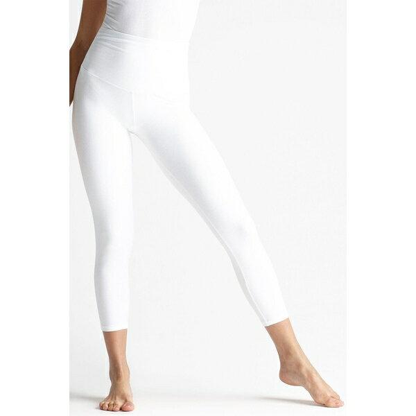 靴下・レッグウェア, スパッツ・レギンス  Skimmer Capri Leggings WHITE