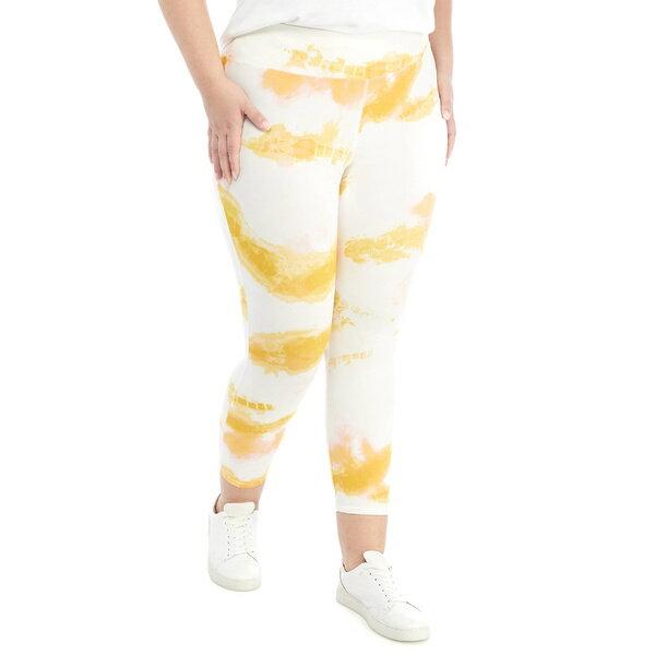 靴下・レッグウェア, スパッツ・レギンス  Studio Plus Size Tie Dye Capri leggings -