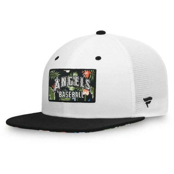 メンズ帽子, キャップ  Los Angeles Angels Fanatics Branded Infield Garden Trucker Snapback Hat White