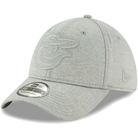 ニューエラ メンズ 帽子 アクセサリー Baltimore Orioles New Era Logo Shade 39THIRTY Flex Hat Gray