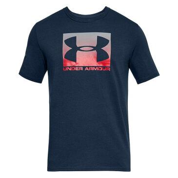 アンダーアーマー メンズ Tシャツ トップス Men's Boxed Sportstyle T-Shirt Navy Blue