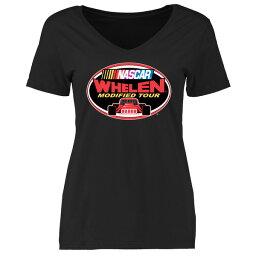 ファナティクス レディース Tシャツ トップス NASCAR Women's Whelen Modified Tour Logo TShirt Black