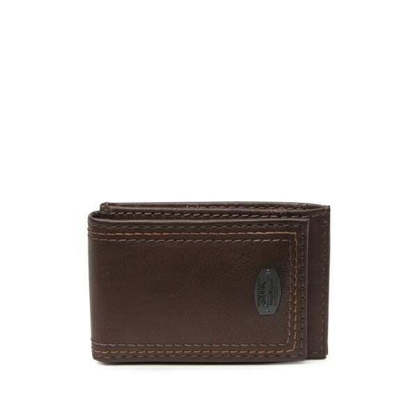 財布・ケース, メンズ財布  RFID Wide Magnetic Wallet BROWN