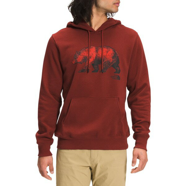 トップス, パーカー  The North Face Mens Bear Pullover Hoodie Brick House Red