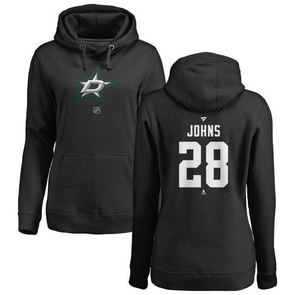 トップス, スウェット・トレーナー  Dallas Stars Fanatics Branded Womens Personalized Team Authentic Pullover Hoodie Black