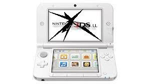 3DS上側液晶の破損・ちらつきなど修理します。