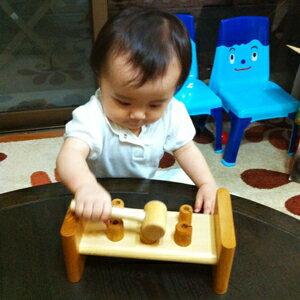 ハンマートイ【1歳の誕生祝】‐木のおもちゃ飛鳥工房‐