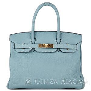 [Schönheit] HERMES Hermes Handtasche Birkin 30 Taurillon Blue Run Blau Blau Gold Metallbeschläge T Gravierte Promi Beliebte Farbe