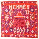 【新品】HERMES エルメス カレ45 シルク ヴァーミリオン スカーフ ケリーアンペルル