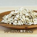 乾燥きのこ フリーズドライ野菜 フリーズドライ舞茸(40g)まいたけ 乾燥マイタケ 国産野菜【ラーメン具材】乾燥野菜のアスザックフーズ