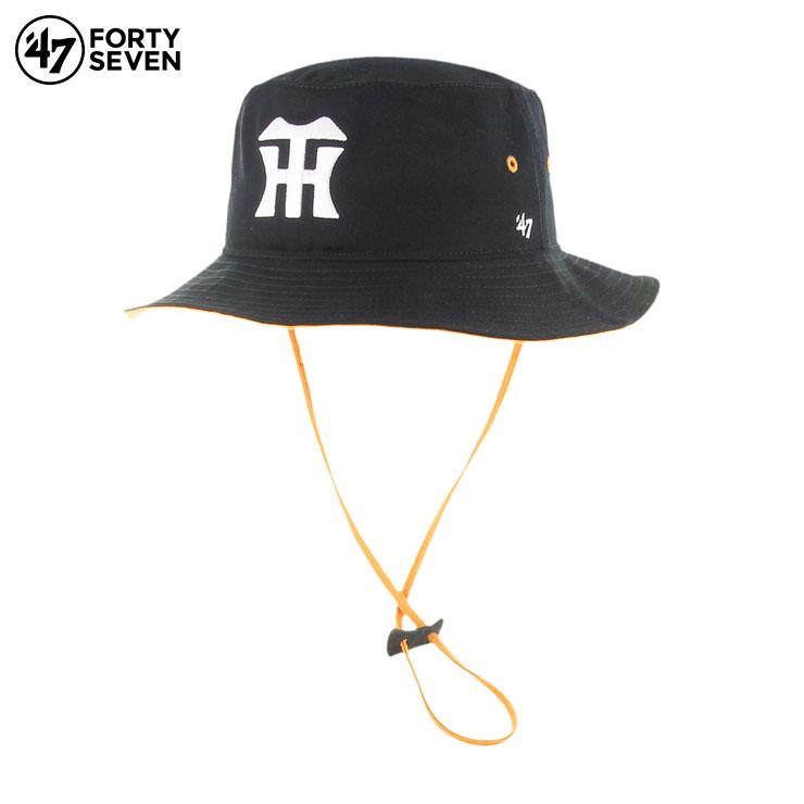 メンズ帽子, ハット 47 47 Brand 47Brand TIGERS 47 KIRBY BUCKET BLACK
