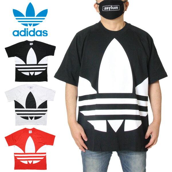 17周年誕生祭最大17%OFFクーポン配布中 アディダスADIDASTシャツ半袖メンズレディースブランド大きいサイズBIGTR
