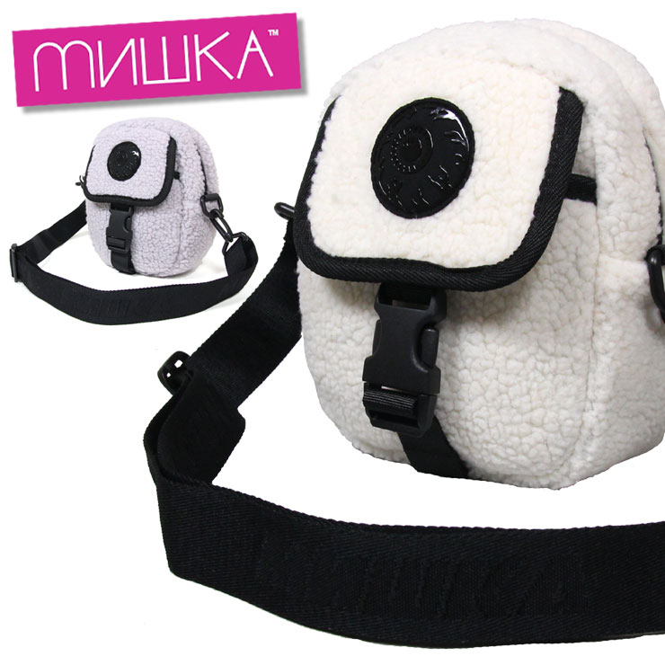 日本Yahoo代標|日本代購|日本批發-ibuy99|包包、服飾|包|男女皆宜的包|單肩包/斜挎包|ミシカ MISHKA ショルダーバッグ ポシェット ボア メンズ レディース ブランド BAG M…