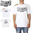 【衝撃の20%OFFクーポン配布中】MOBSTYLES モブスタイルス Tシャツ MOB LOGO TEE WHITE スポーツ 格闘技 トレーニング ホワイト S M L XL