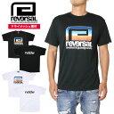 【SALE10%OFF】REVERSAL リバーサル Tシャツ RETRO FUTURE BIG MARK DRY TEE RV19AW038 スポーツ 格闘技 トレーニング ブラック ホワイト S M L XL