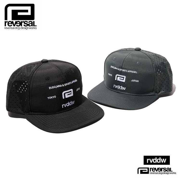 メンズ帽子, キャップ  REVERSAL PUNCHING BB CAP rv21ss708