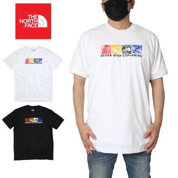 【GW特別企画 ポイント最大20倍&全品10%OFFクーポン】【P5倍】ノースフェイス THE NORTH FACE Tシャツ 無地 半袖 ハーフドーム メンズ レディース 大きいサイズ M S/S FREE SOLO HALF DOME TEE NF0A3X6S ホワイト(FN4) ブラック(JK3) S M L XL