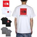 ノースフェイス Tシャツ THE NORTH FACE 半袖Tシャツ ボックスロゴ メンズ レディー