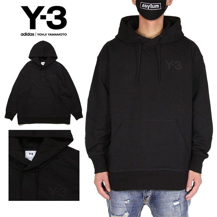 トップス, パーカー Y-3 Y3 ADIDAS YOHJI YAMAMOTO CLASSIC CHEST LOGO HOODIE M L XL