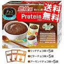 【送料無料】DHCプロティンダイエットケーキチョコセレクション15袋入(3味×各5袋)〔Protein Diet プロテインダイエット〕※北海道800円・東北400円の別途送料加算