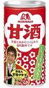 【送料無料】森永製菓甘酒 しょうが入り190g缶 30本入※北海道800円・東北400円の別途送料加算